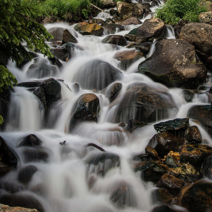 Water Photograph - Near Berthoud by John Strong