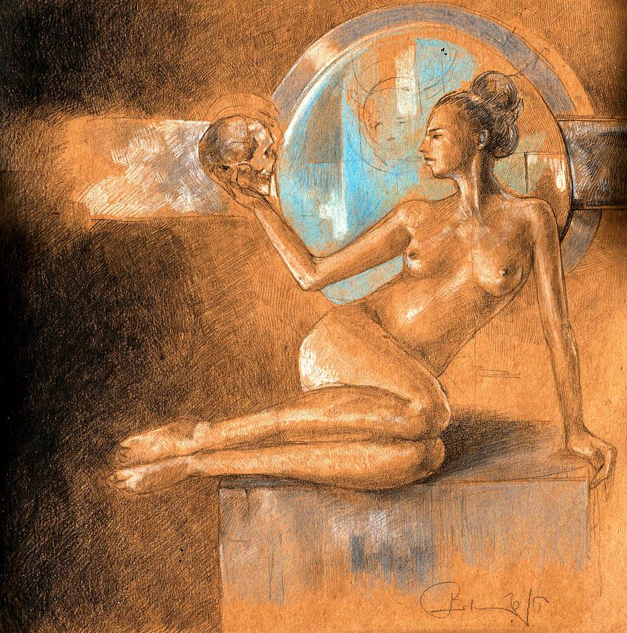 Death Painting - Near-death by Ertan Aktas