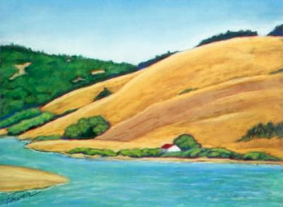 Near Jenner Painting by Joyce Power