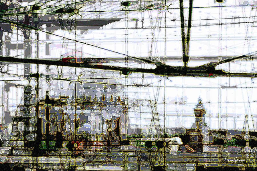 Near The Government Digital Art by Arie Van Garderen