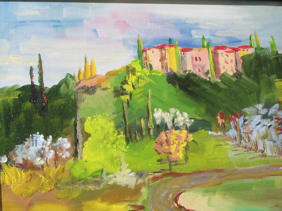 Near Tuscany by Dody Rogers
