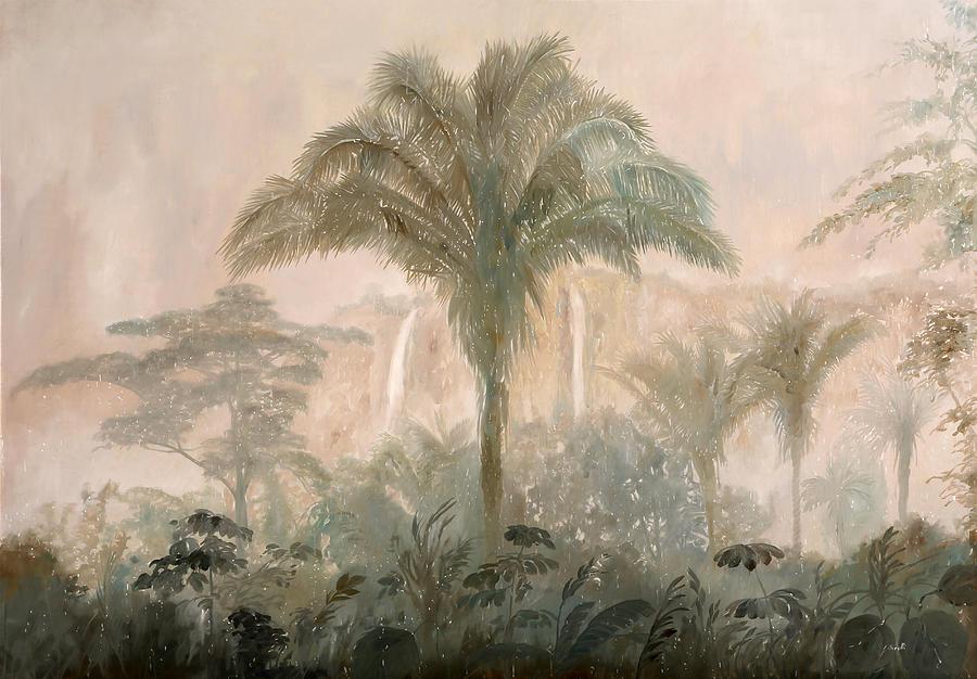 Nebbia Nella Jungla Painting