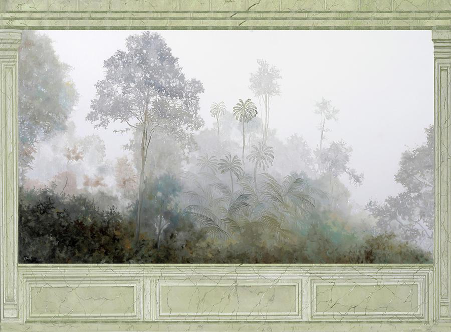 Nebbie Di Marmo Grigio Painting