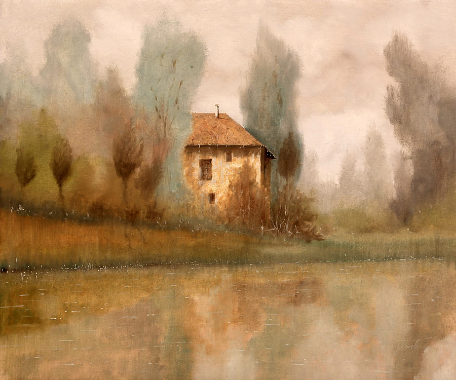 Nebbiolina Autunnale Painting