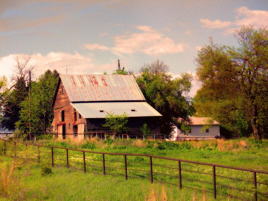 Nebraska Photograph - Nebraska In The Summer Afternoon by Tyler Robbins