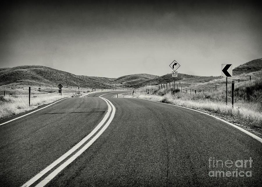 Nebraska Lonely Byway Photograph