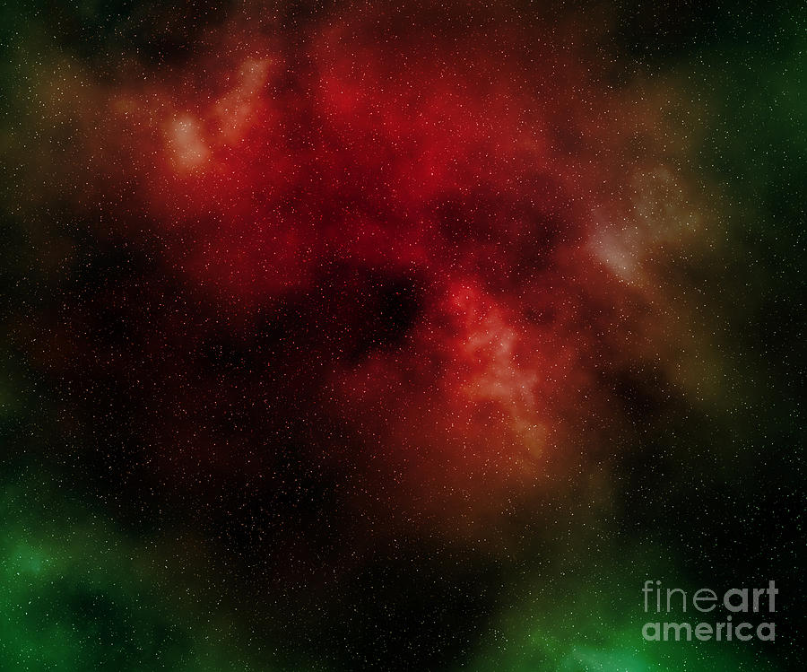 Universe Digital Art - Nebula by Michal Boubin