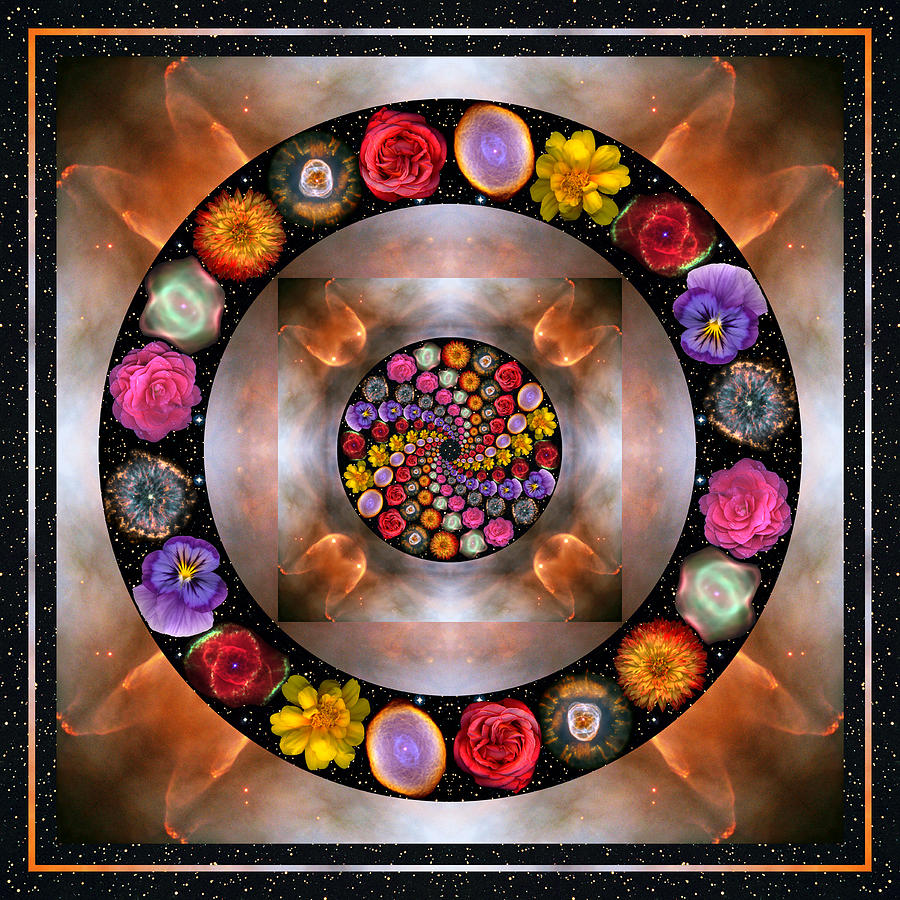 Chakras Photograph - Nebulosity by Bell And Todd