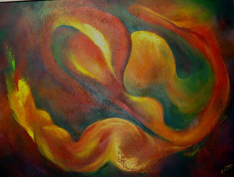 Abstract Painting - Nebulus by Zoe Landria