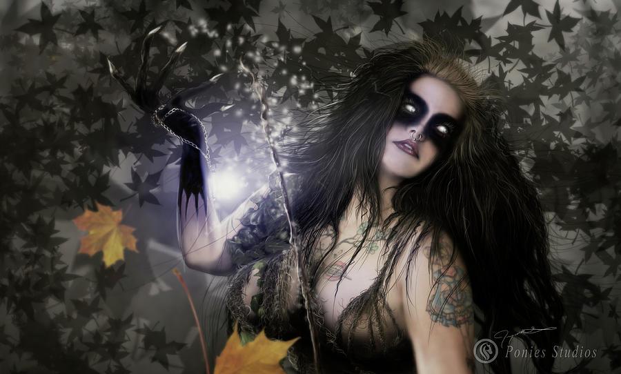 Necromancers Magic Digital Art