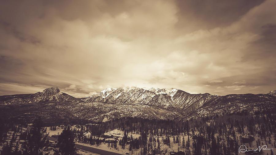 West Needle Mountain Nostalgic by Dennis Dempsie