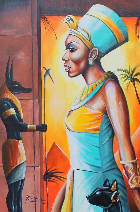 Nefertiti by Henry Blackmon