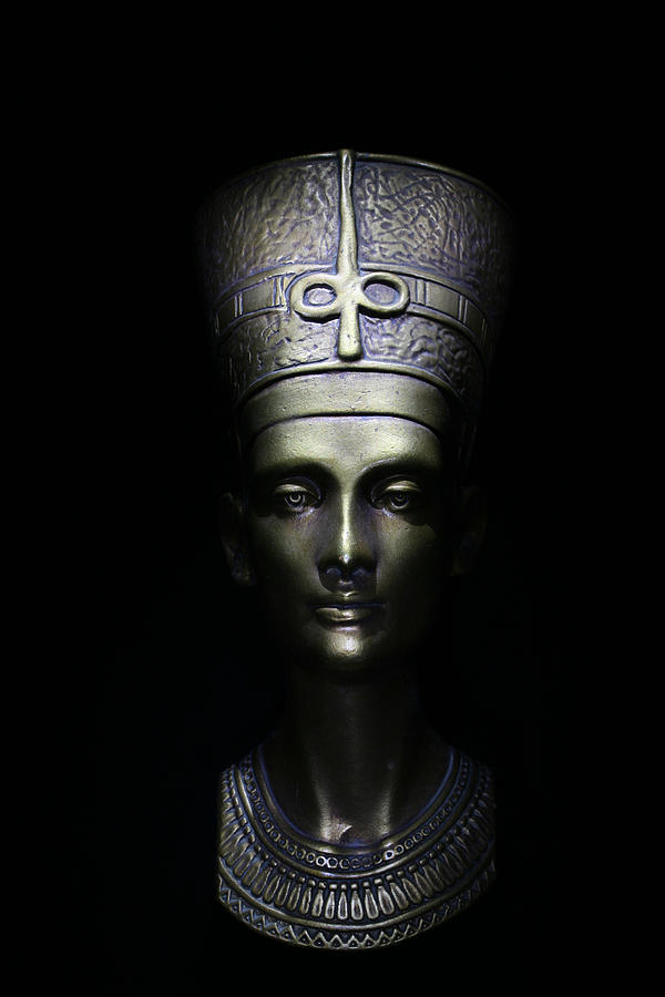 Queen Photograph - Nefertiti by One Rude Dawg Orcutt