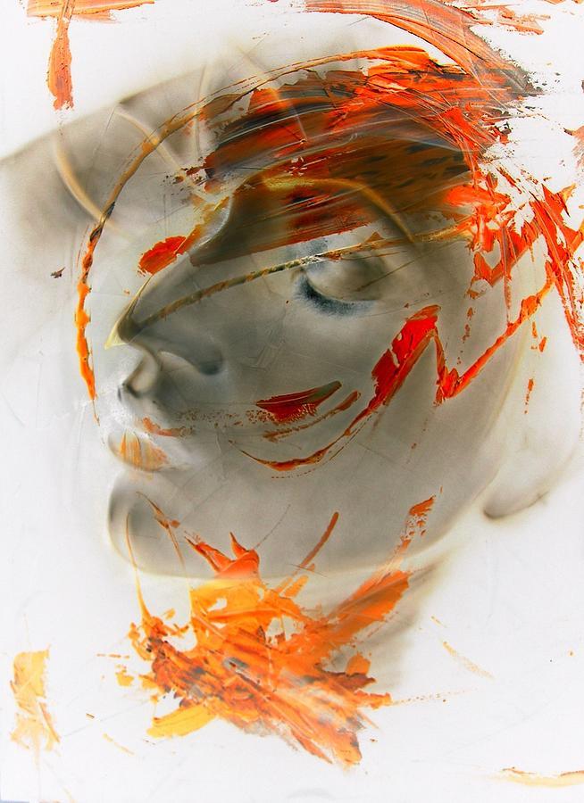 Negamuse... Digital Art by Alessandro Rinaldi