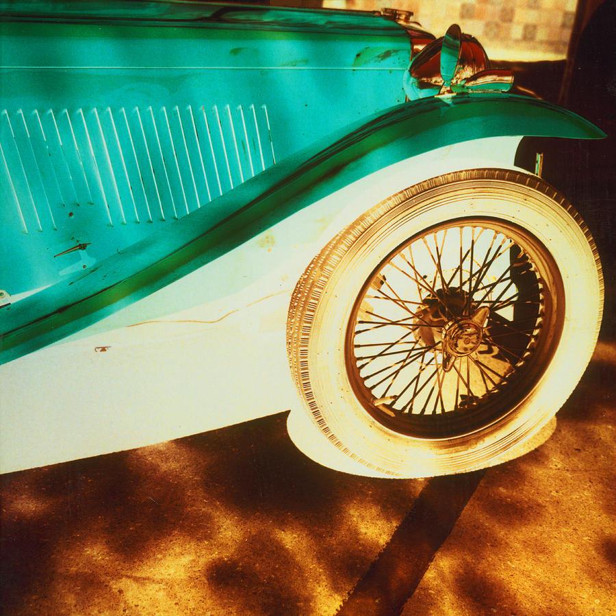 Jaguar Photograph - Negative Jaguar . 1987 by Dennis Kendal Hall