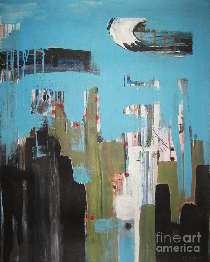 Abstract Paintings Painting - Neglected Area by Seon-Jeong Kim