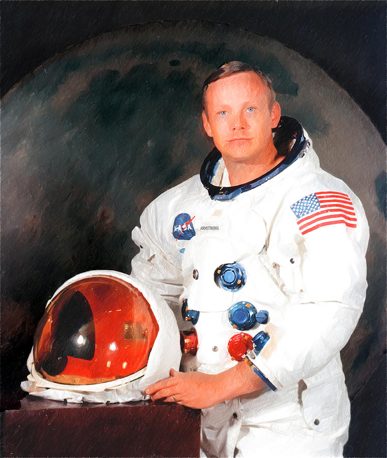 Neil Armstrong Photograph - Neil Armstrong by Ericamaxine Price