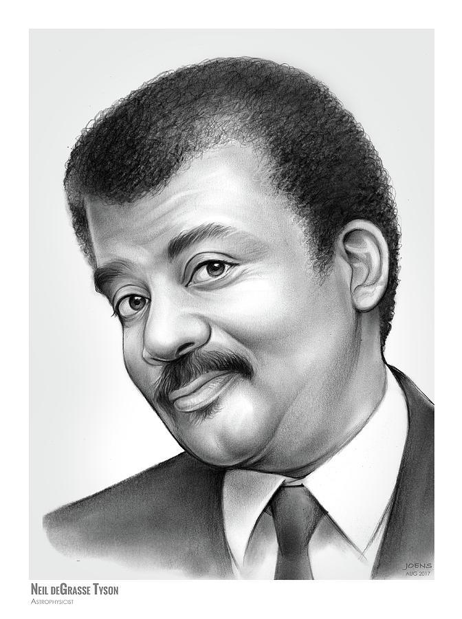 American Drawing -   Neil deGrasse Tyson by Greg Joens
