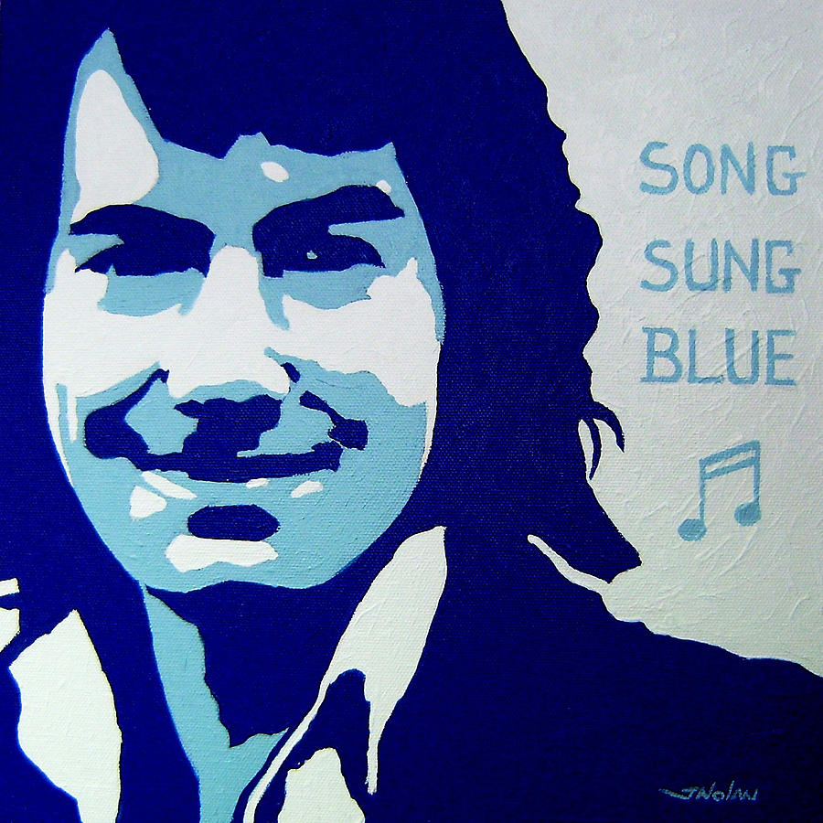 Icon Painting - Neil Diamond by John  Nolan