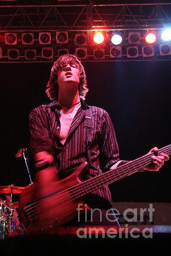 Guitar Photograph - Neil Sanford Joshua Sun 2 by Amanda  Sanford