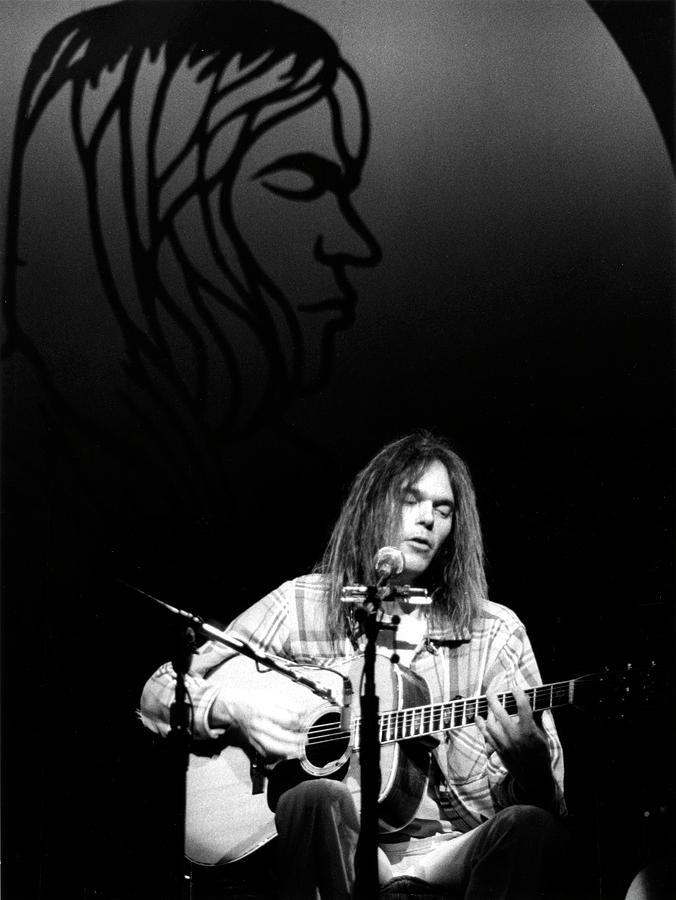Neil Young 1976 by Chris Walter