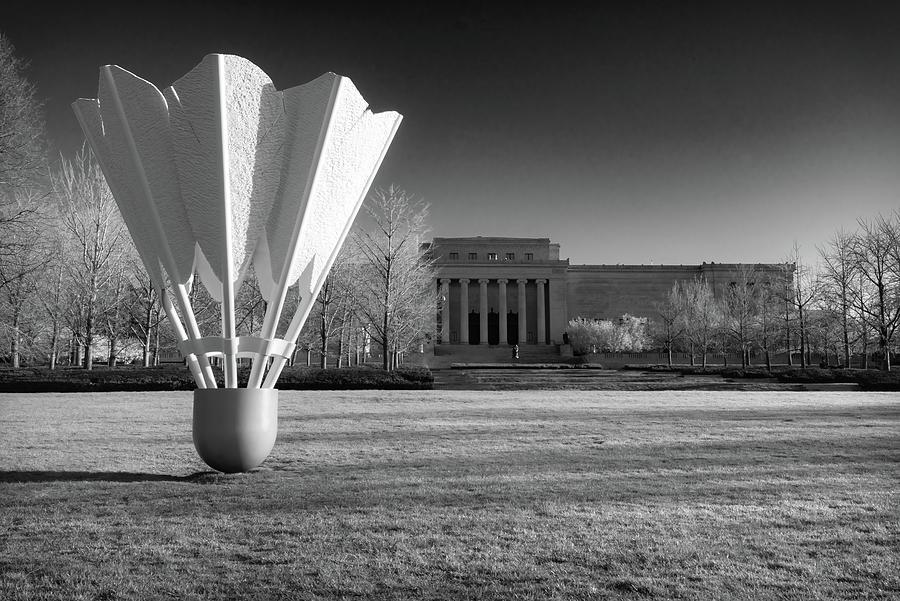 Nelson Atkins Art Museum In Infrared - Kansas City Photograph