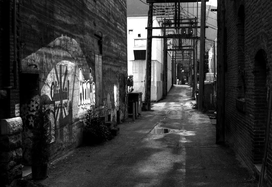 British Columbia Photograph - Nelson Bc Alley by Lee Santa