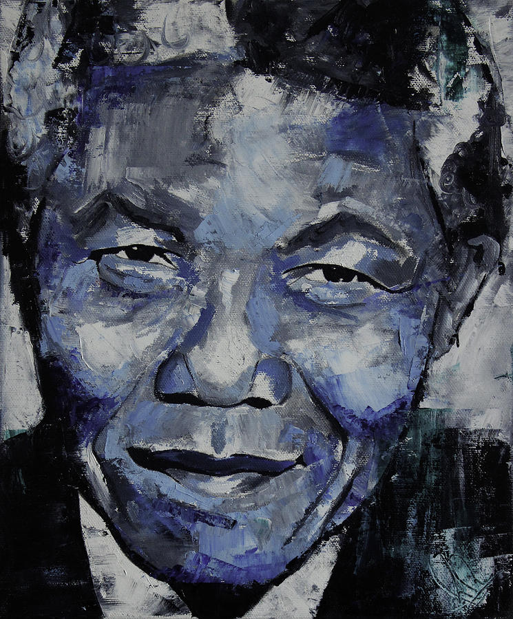 Nelson Painting - Nelson Mandela by Richard Day