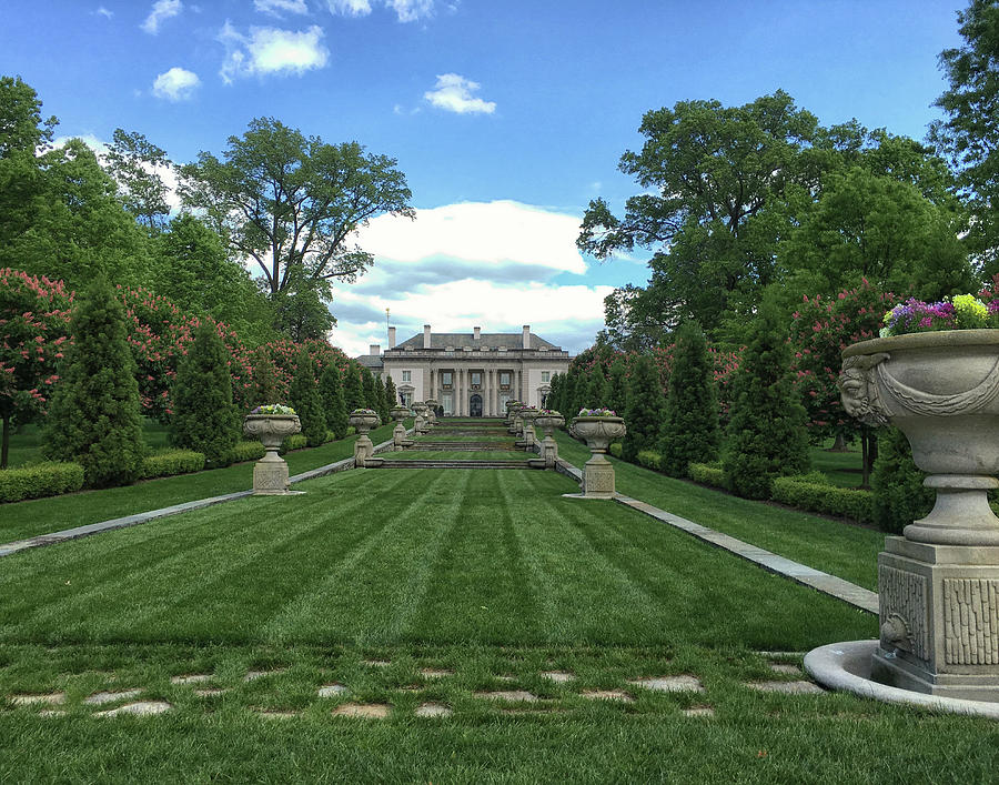Nemours-A I DuPonts Estate by Lois Johnson