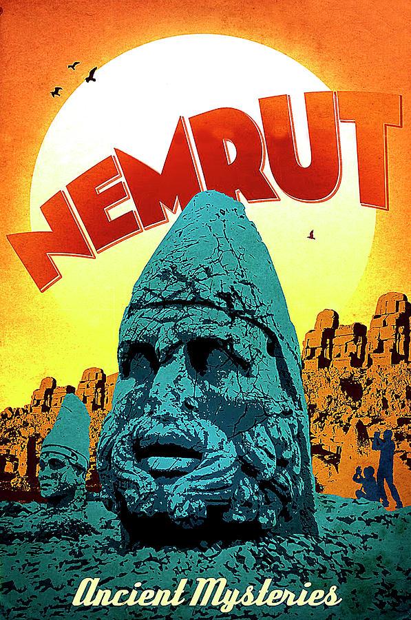 Nemrut Painting - Nemrut, Ancient Mysteries, Turkey by Long Shot