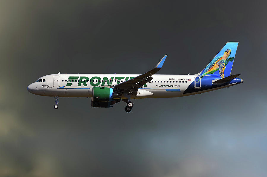 Airbus Photograph - Neo Frontier Airbus A320 by Smart Aviation