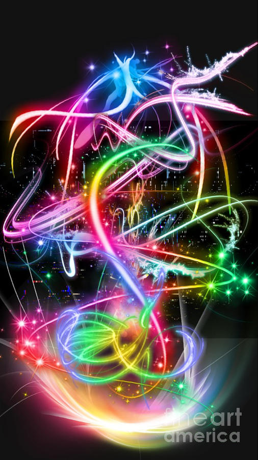 neon dragon in abstract digital art by jd poplin neon dragon in abstract by jd poplin