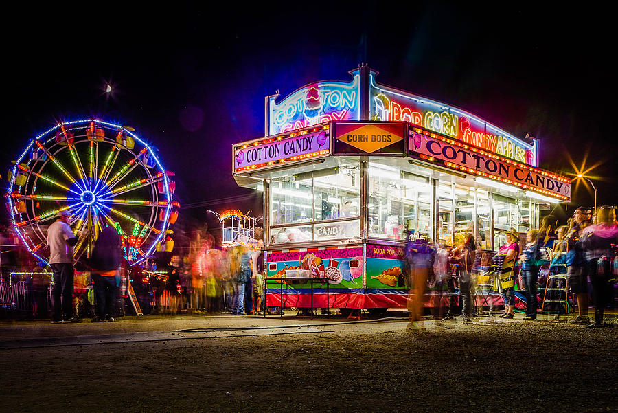 Fair Photograph - Neon Fun by Bryan Moore