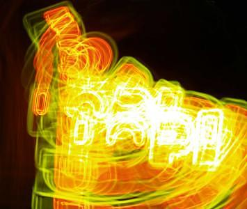 Neon Sign Photograph - Neon Sign by Peggy Biggs