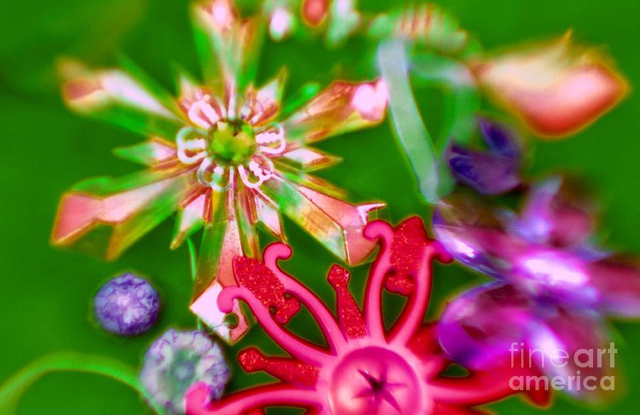 Neon Photograph - Neon Stars by Tamarra Tamarra