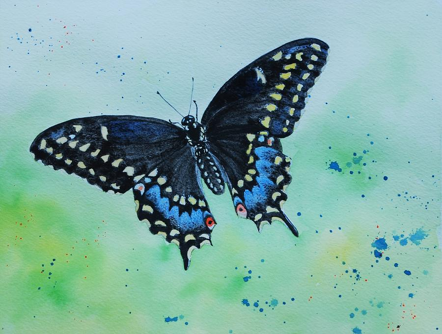 Neon Swallowtail by Sonja Jones