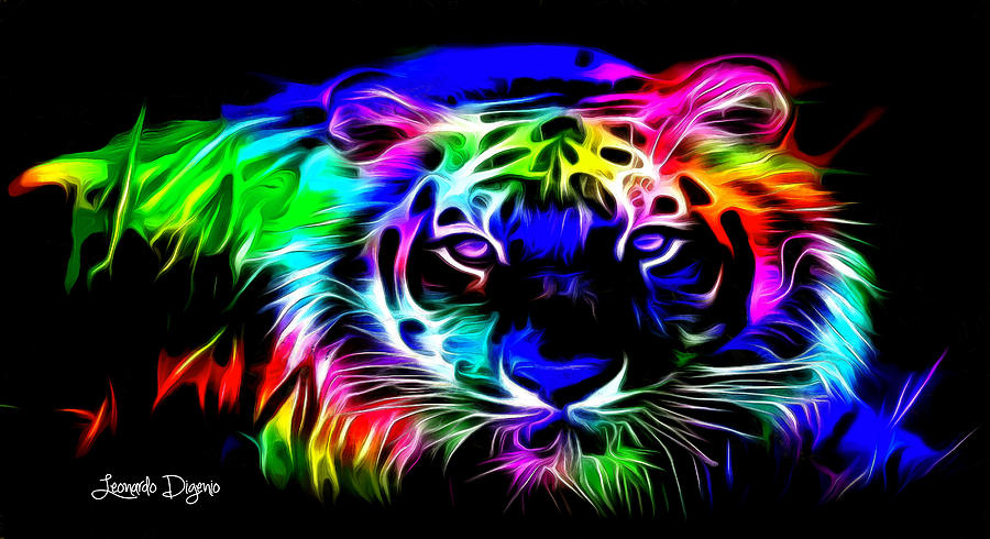 Neon Painting Colors