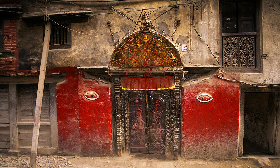 Nepalese Door by Jed Holtzman