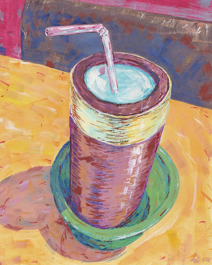 Millet Beer Painting - Nepalese Tongba, Jaand Or Millet Beer, Kathmandu, Nepal by Dave Alber