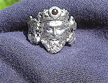 Sterling Silver Jewelry - Neptune Ring by Danny Shaw