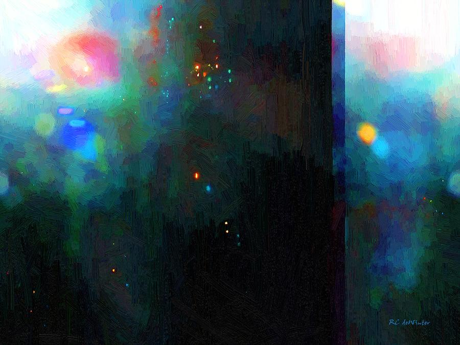 Abstract Painting - Neptunes Monolith by RC DeWinter