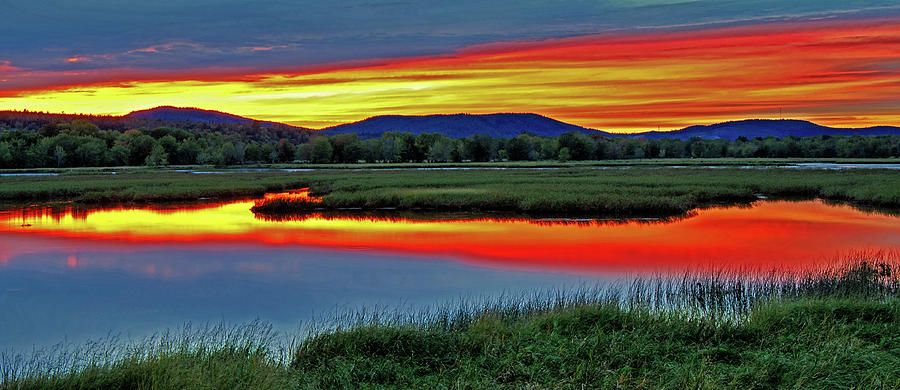 Nerepis Marsh Sunset HDR by Jeff Galbraith