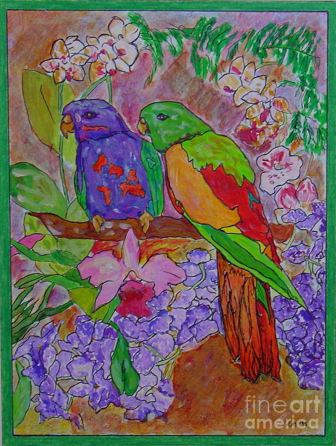 Nesting Painting by Leila Atkinson