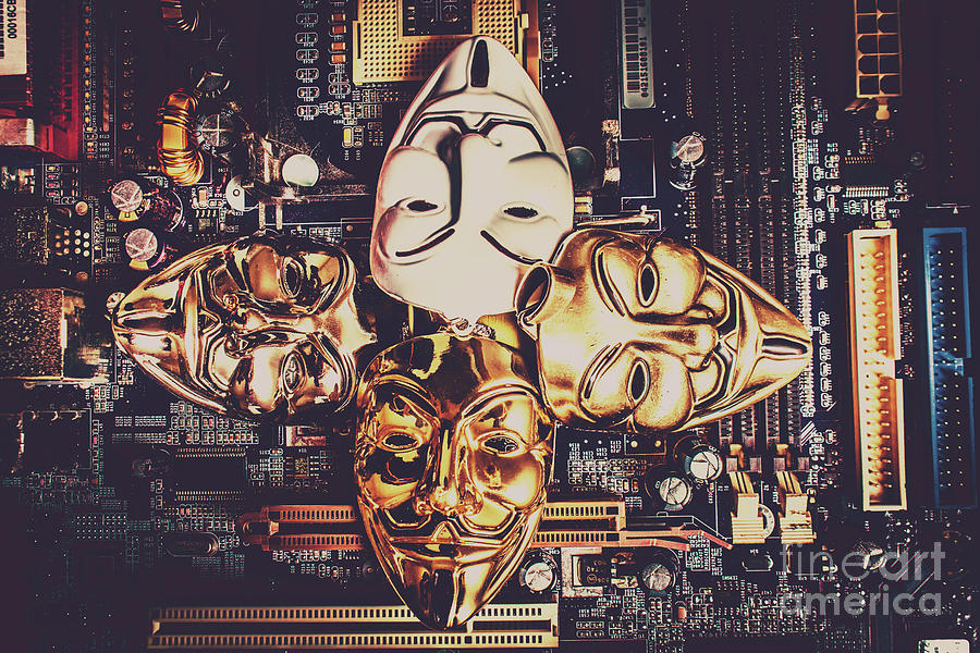 Anon Photograph - Network Of Anons by Jorgo Photography - Wall Art Gallery