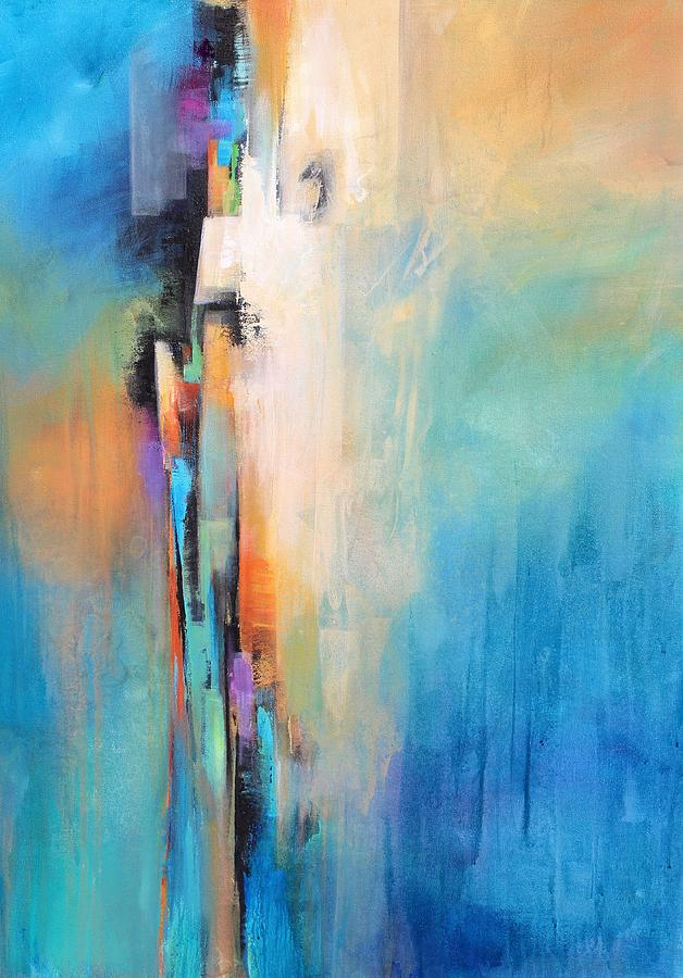 Network Of Color Painting By Karen Hale