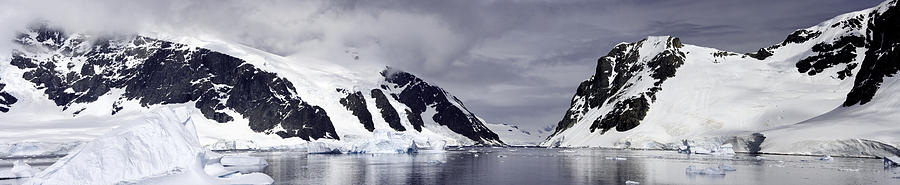 Antarctica Photograph - Neumeyer Channel - Antarctica by Ralph Fahringer