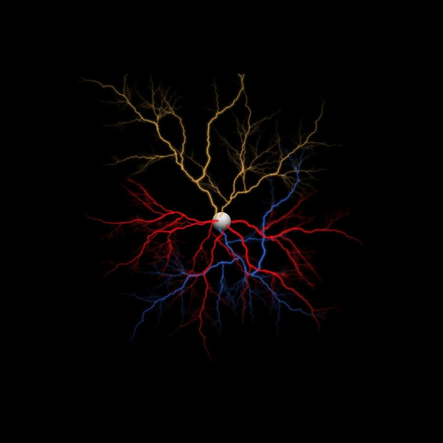 Neuron Digital Art - Neuron X1X Example by Betsy Knapp