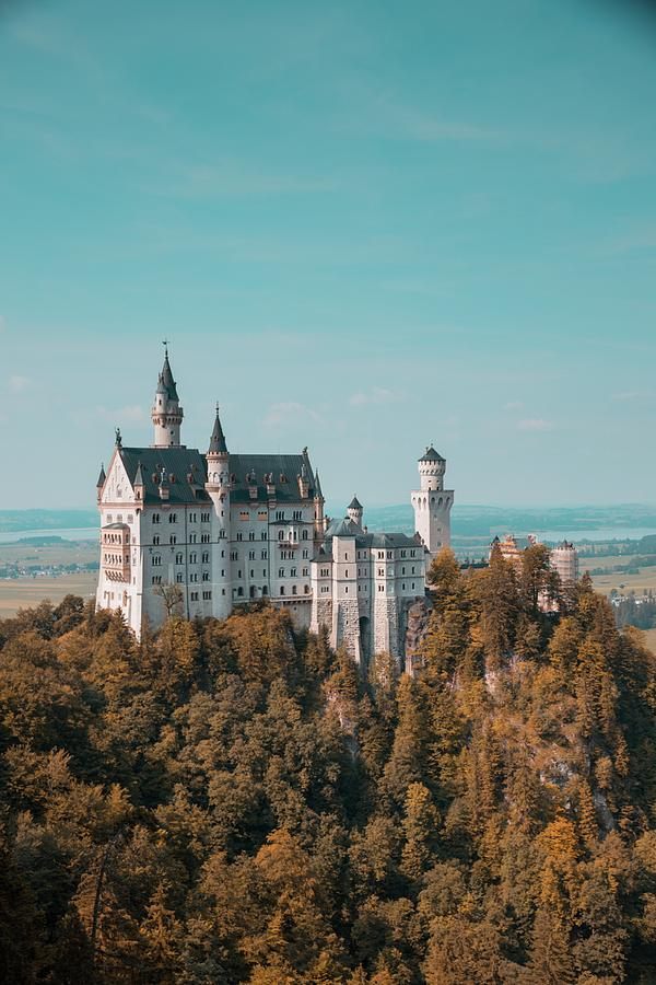 Neuschwanstein Castle Photograph - Neuschwanstein Castle by Eric Marty