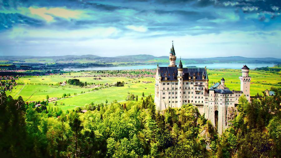 Neuschwanstein Castle by Kevin McClish