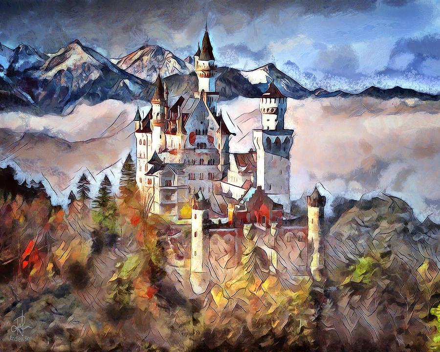 Neuschwanstein Castle by Pennie McCracken